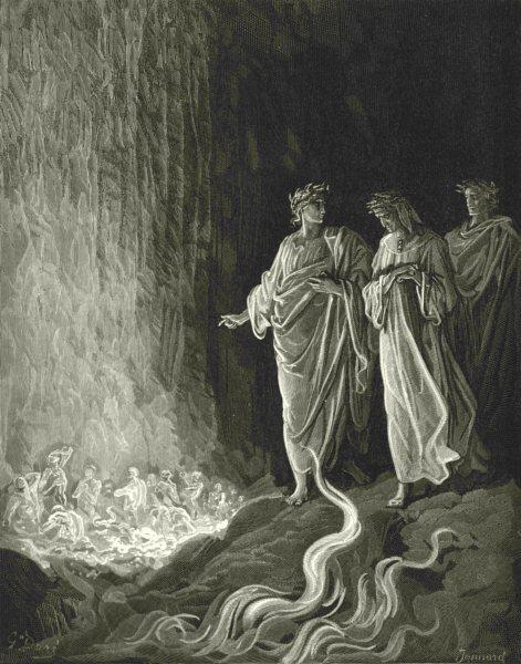 Associate Product DANTE.Then Bosom Burning Mass,god Mercy heard sung felt no less desire 1893