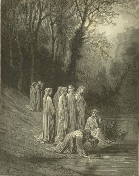 Associate Product DANTE. Where further space allow'd, then, reader might I sing 1893 old print