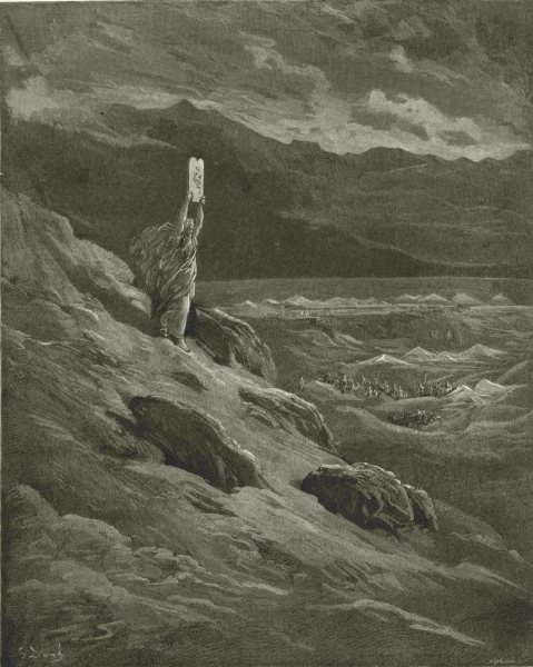 Associate Product MILTON PARADISE LOST.Beseech that Moses might report them will terror c1886