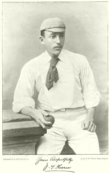 Associate Product KENT MIDDLESEX CRICKET. JOHN HEARNE best bowlers of day 1896 old antique print