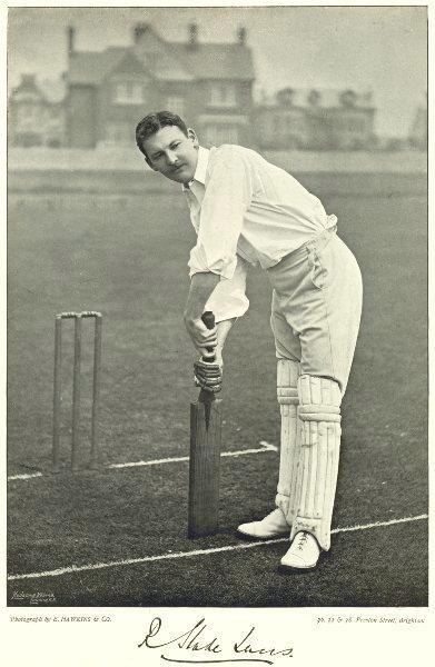 Associate Product MDDX CRICKET. RS LUCAS- Batsman; England tourist USA W Indies Hockey 1896