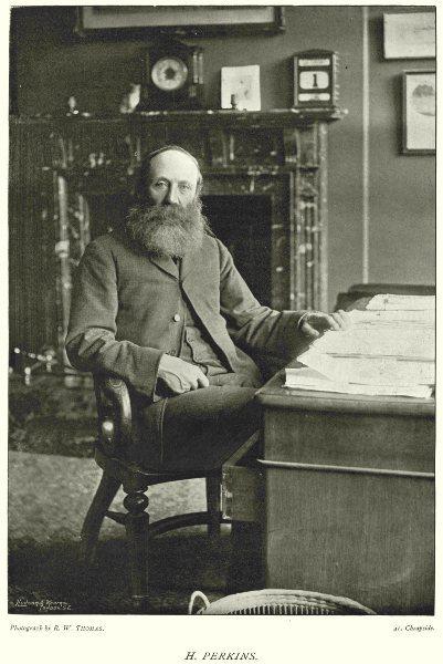 Associate Product CRICKET. HENRY PERKINS- MCC Secretary; all- round Cricketer; Cambridge 1896