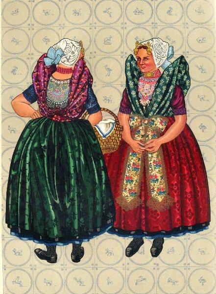 Associate Product NETHERLANDS. Zeeuwsch- Vlaanderen, or Zeeland- Flanders to Axel, 1890 1932