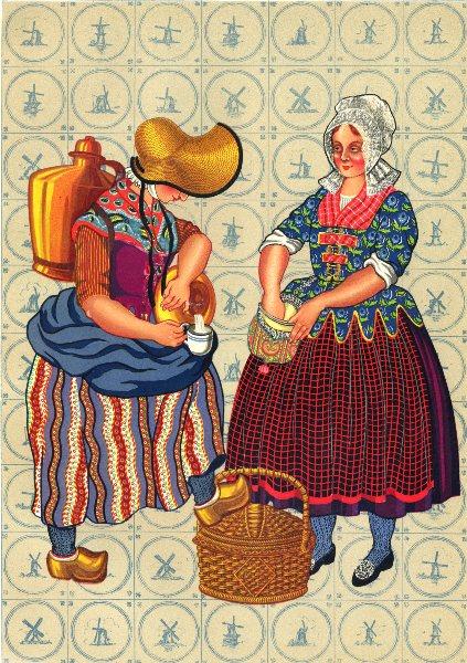 Associate Product NETHERLANDS. Meierij Van den Bosch. early Nineteenth Century 1932 old print