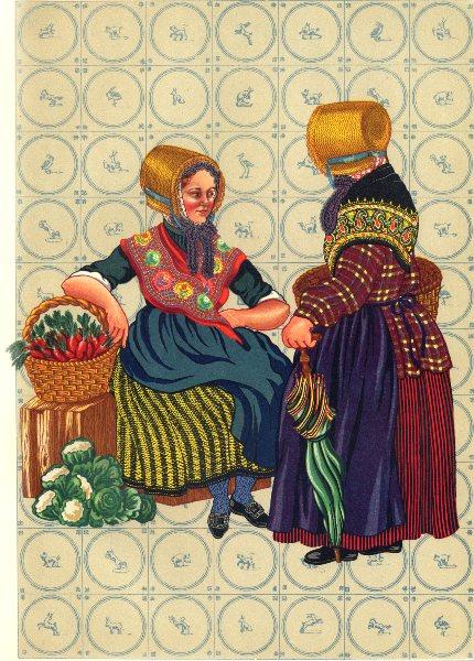 Associate Product NETHERLANDS. Limburg. first half of the Nineteenth Century 1932 old print
