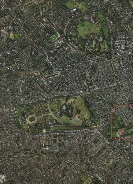 Associate Product WEST LONDON.Westminster Marylebone Mayfair Kensington Chelsea Bayswater 2000 map