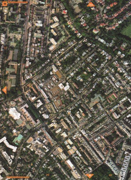 Associate Product ST JOHN'S WOOD NW8. Wellington Hospital of St John & St Elizabeth 2000 old map