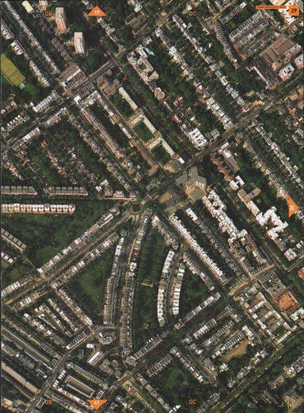 Associate Product MAIDE VALE W9 NW8. St. John's Wood Hamilton Terrace Warwick Avenue 2000 map