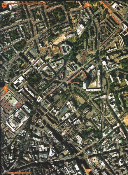 Associate Product CLERKENWELL EC1. Finsbury Sadler's Wells City University Mount Pleasant 2000 map