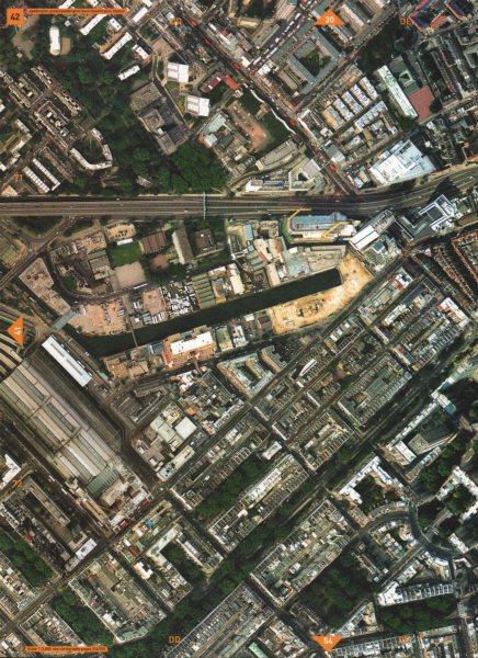 Associate Product PADDINGTON W2 NW1. Paddington Green/Basin/Station Bayswater 2000 old map