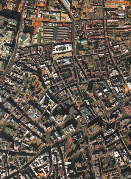 Associate Product WHITECHAPEL EC3 E1. Old Spitalfields Market Aldgate Bishopsgate 2000 map