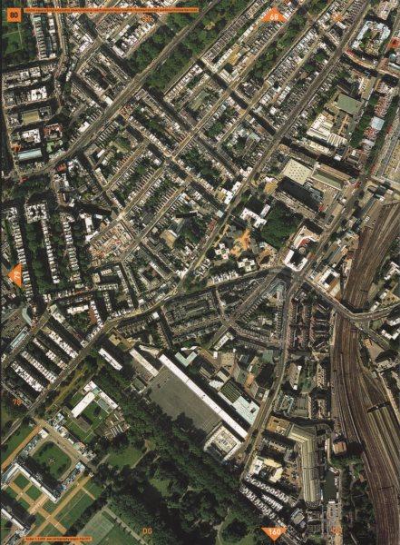 Associate Product BELGRAVIA SW1. Sloane Sq Eaton Square Royal Hospital Chelsea Barracks 2000 map