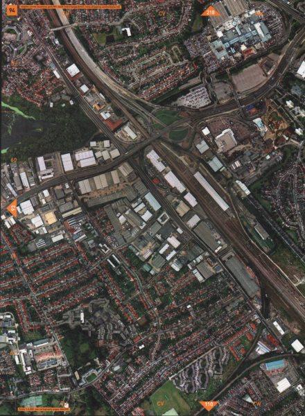 Associate Product DOLLIS HILL NW2 NW4. Staples Corner M1-A406 Interchange Brent Cross 2000 map