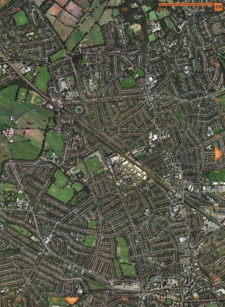 Associate Product WEALDSTONE. Harrow Weald Pinner Park Wealdstone Headstone North Harrow 2000 map