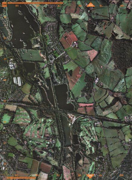 Associate Product S HAREFIELD.Bayhurst Wood New yrs Green Golf Course Denham Country Park 2000 map