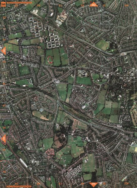 Associate Product ELTHAM SE12 SE3 SE9. Kidbrooke Blackheath Park Eltham Mottingham 2000 old map