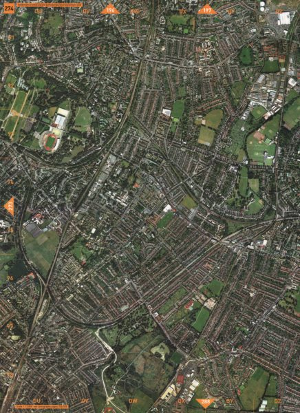 Associate Product PENGE SE26 SE20. Sydenham Crystal Palace Park Penge Anerley Elmers End 2000 map