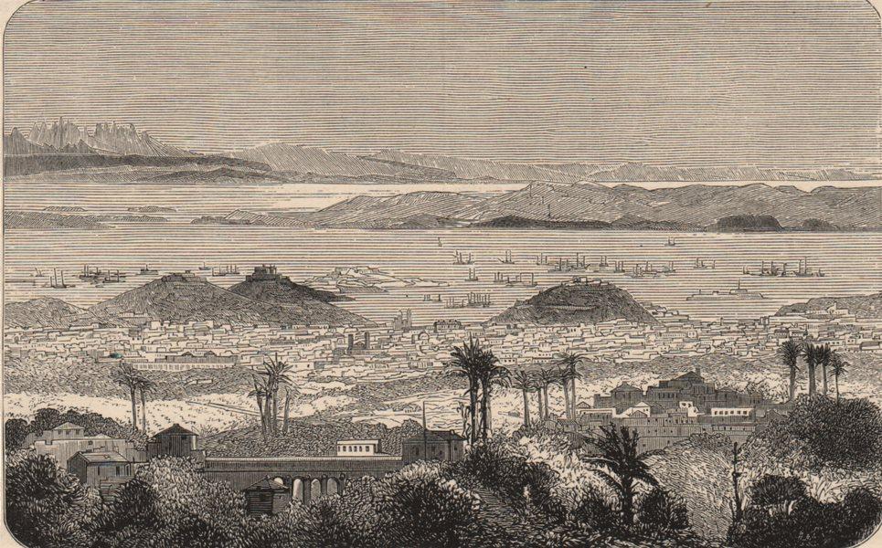 Associate Product BRAZIL. Rio de Janeiro 1882 old antique vintage print picture
