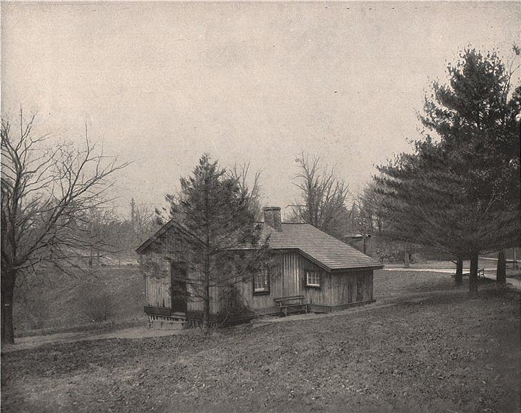 Associate Product General Grant's Log Cabin, Fairmount Park, Philadelphia, Pennsylvania 1895