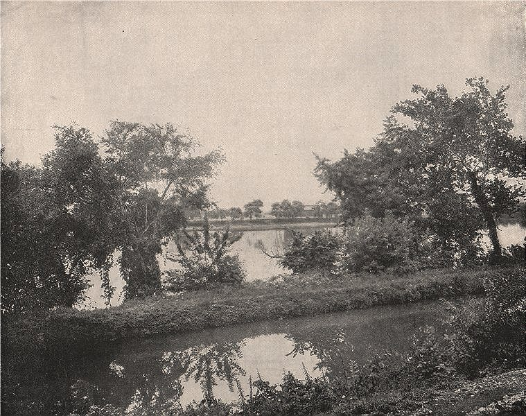 Associate Product The Susquehanna River, Pennsylvania 1895 old antique vintage print picture