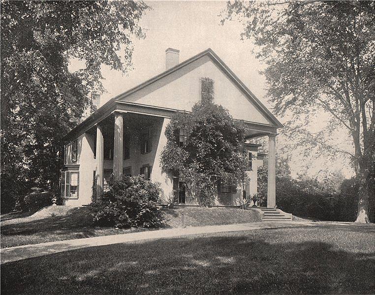 "Associate Product John Greenleaf Whittier House, ""Oak Knoll"", Danvers, Massachusetts. Quaker 1895"