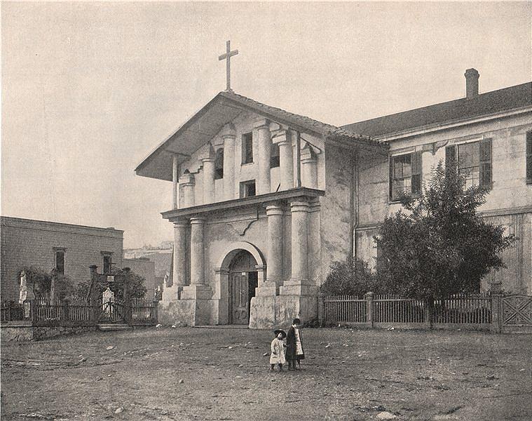 Associate Product Mission Dolores, San Francisco, California. Mission San Francisco de Asis 1895