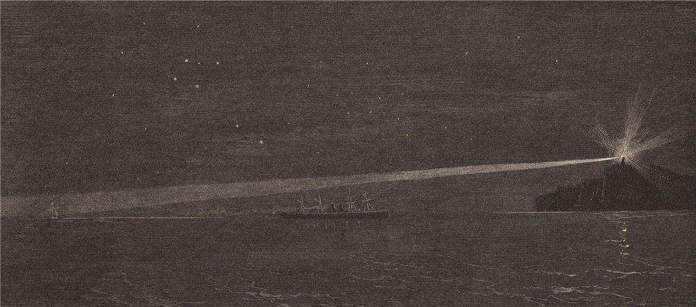 Associate Product SOUTH HEAD Light, Near the Entrance to Port Jackson. SYDNEY. Australia 1888