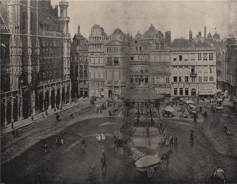 Associate Product BRUSSELS. The Hotel de Ville. Belgium 1895 old antique vintage print picture