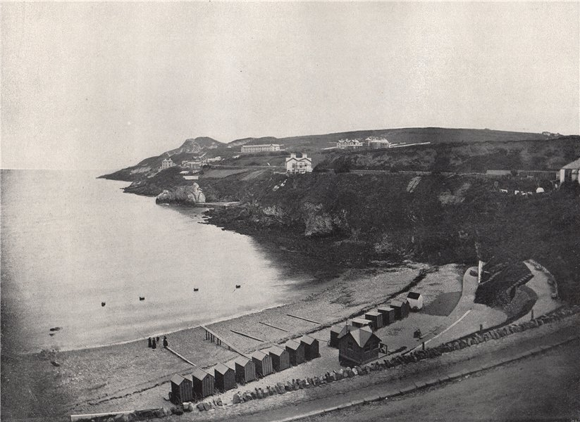 HOWTH. The bathing-place. Ireland 1895 old antique vintage print picture