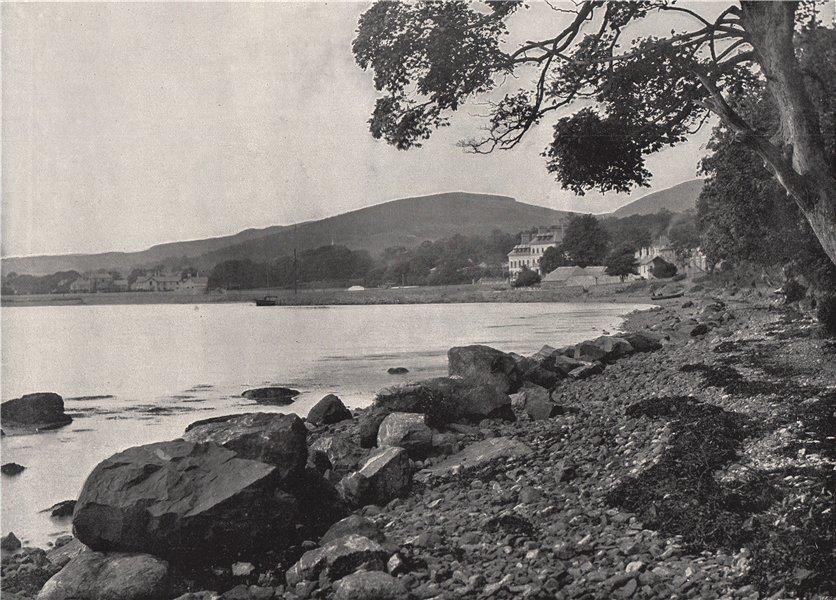 ROSTREVOR. Woodside, Rostrevor. Ulster 1895 old antique vintage print picture
