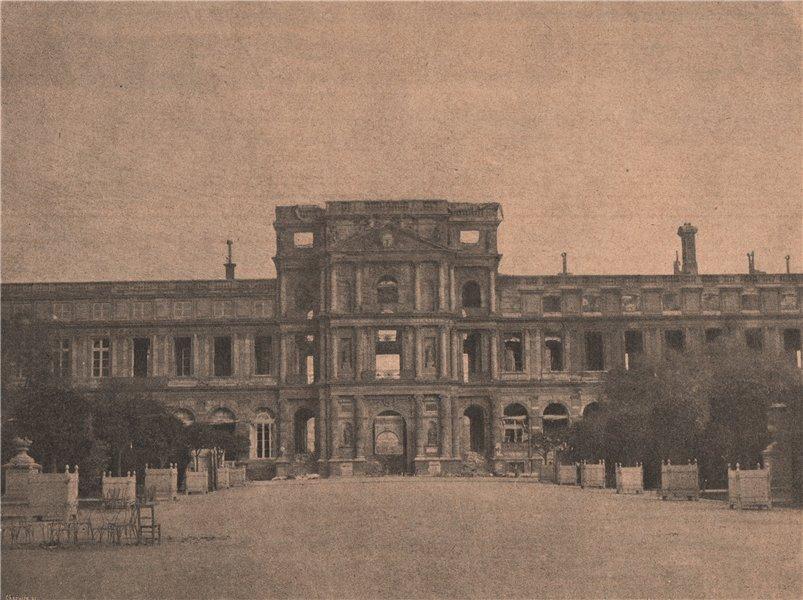 Associate Product PARIS COMMUNE 1871. Les Tuileries.Appartement de l'Impératrice. 1er Étage c1873
