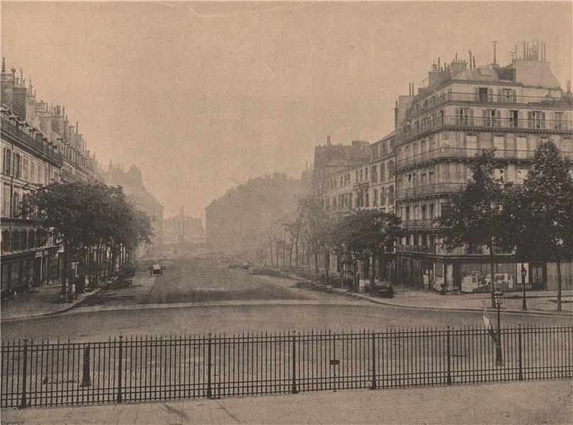 Associate Product PARIS COMMUNE 1871. La Rue Royale (Tricolore flotte sur la Madeleine) c1873