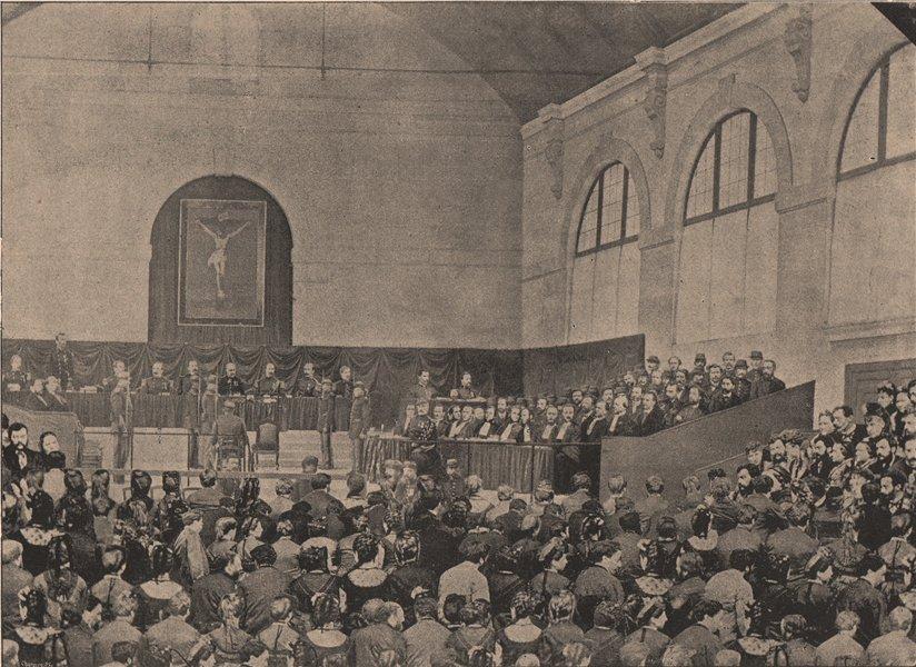 Associate Product PARIS COMMUNE 1871. Jugement des 16 principaux membres de la commune c1873