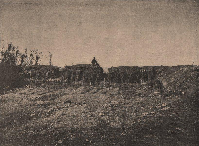 Associate Product PARIS COMMUNE 1871. Plateau de Chatillon (Redoute.) c1873 old antique print