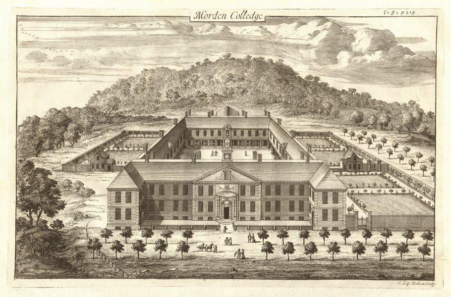 Associate Product 'Morden Colledge'. Morden College, Blackheath, London. STOW/STRYPE 1720 print