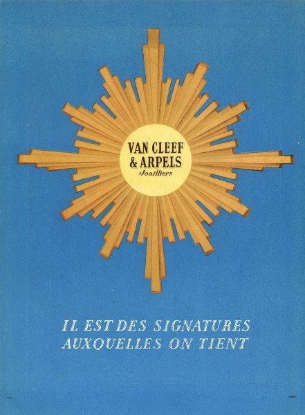 Associate Product VAN CLEEF & ARPELS. Joailliers. Vintage jewelry advertisement 1947 old print