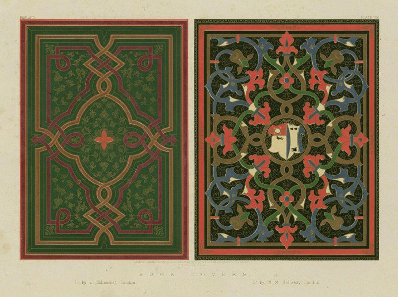 Associate Product INTERNATIONAL EXHIBITION. Book covers. Zahnsdorf & Holloway, London 1862 print
