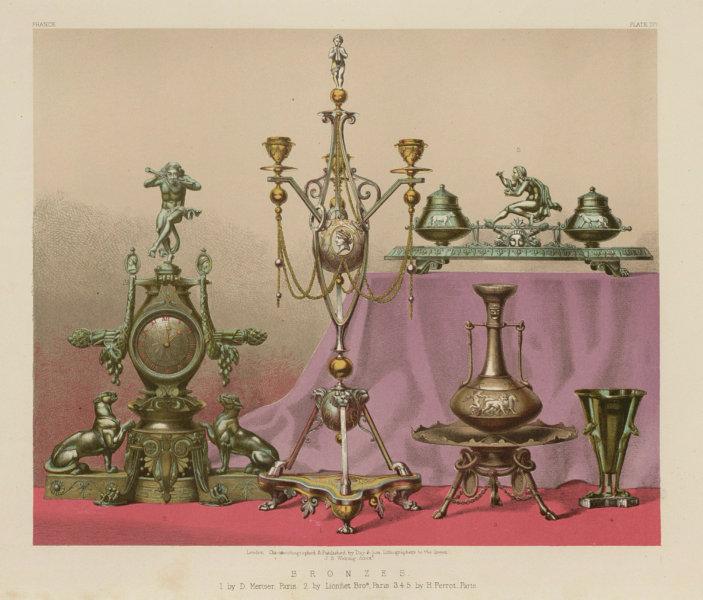 Associate Product INTERNATIONAL EXHIBITION. Bronzes by Mercier, Lionnet & Perrot, Paris 1862