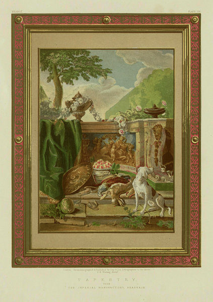 Associate Product INTERNATIONAL EXHIBITION. Tapestry - The Imperial Manufactory, Beauvais 1862