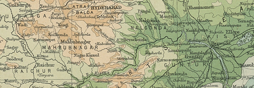 Details about British India - southern section  Relief  Ceylon Sri Lanka   THE TIMES 1922 map