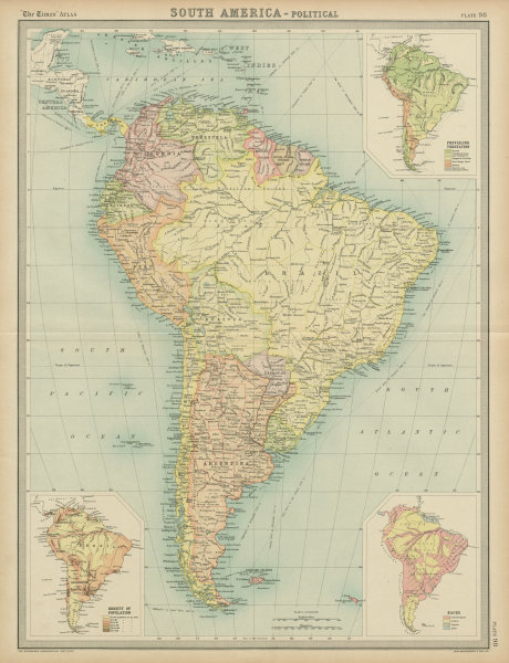 Details about South America. Political. Ethnicity Races. THE TIMES on ethnic groups of central america, ethnic population of europe, aboriginals in south america, paraguay map south america, ethnic western asia map, ethnic populations in africa, ethnic origin us map by county,