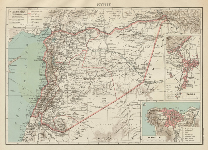 Details about FRENCH COLONIAL SYRIA LEBANON Syrie Liban français Damascus on libya map, umayyad mosque, medina map, sanaa map, amman map, constantinople map, asma al-assad, belgrade map, bashar al-assad, jordan map, aleppo map, ankara map, sinai peninsula map, syria map, euphrates river map, canaan map, muscat map, tyre map, beirut on a map, mecca map, jerusalem map, iraq map, persia map,