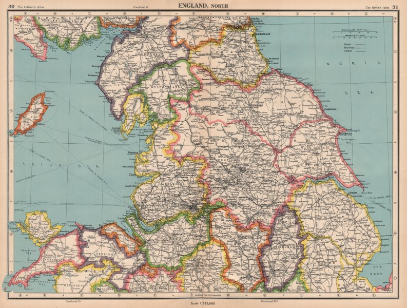 Map Of England Lincolnshire.Details About N England Lincolnshire Parts Lindsey Holland Kesteven Yorks Ridings 1944 Map