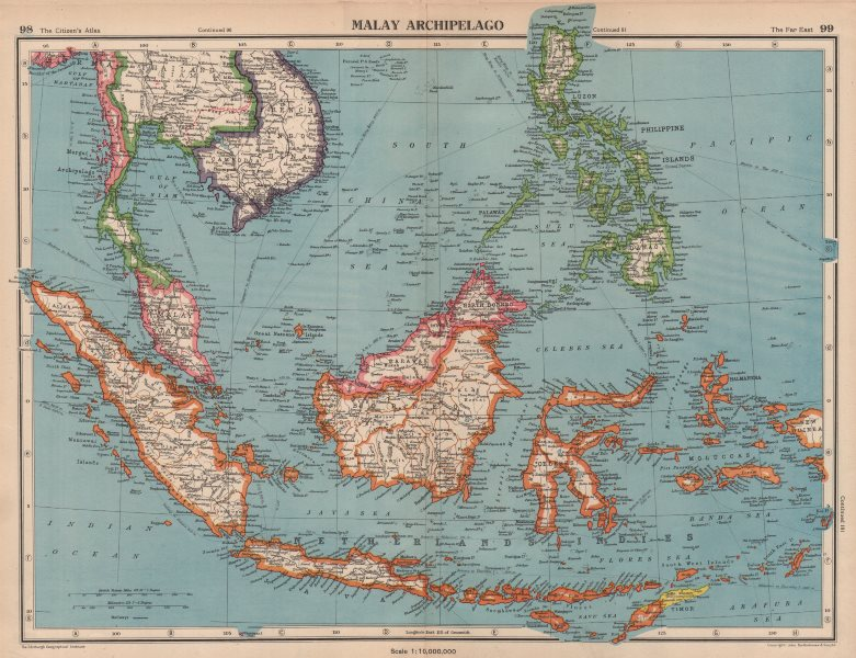 Malay Archipelago Franco Thai War Border Changes East Indies