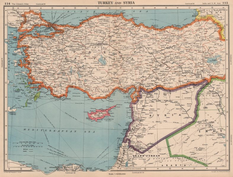 Details about TURKEY & LEVANT. Syria incorporates Lebanon. Palestine on mesopotamia map, israel map, syria map, mediterranean map, maghreb map, north africa map, iraq map, west bank map, ancient near east map, dead sea map, sinai peninsula map, egypt map, east asia map, ottoman empire map, palestine map, cyprus map, jordan map, fertile crescent map, canaan map, anatolia map,
