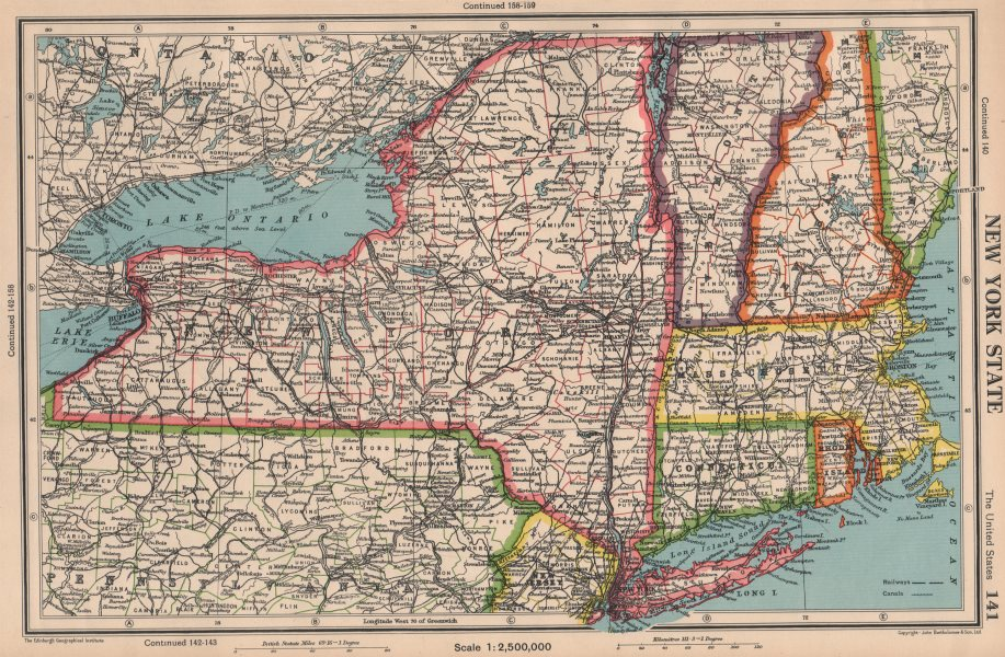 NEW YORK STATE. + Connecticut Vermont Massachusetts RI. BARTHOLOMEW ...
