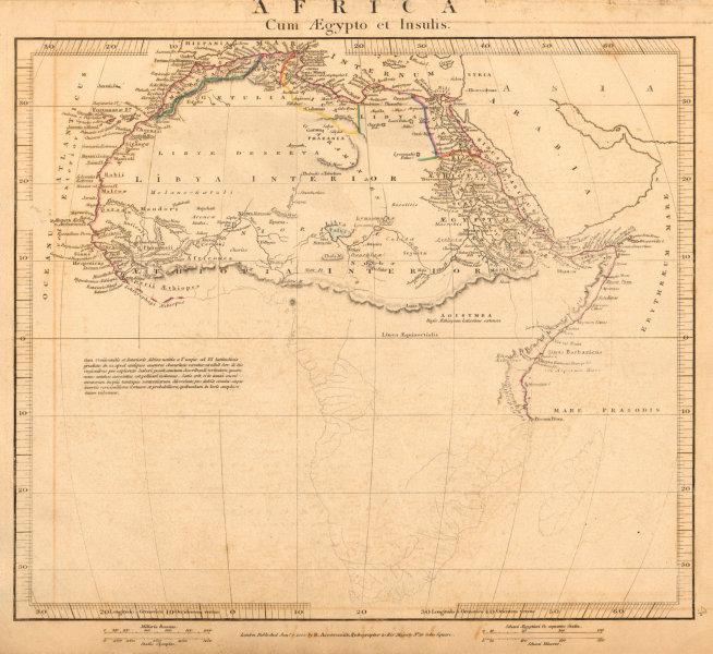 Associate Product ANCIENT AFRICA cum Aegypto et Insulis. Nigritae Aethiopia. ARROWSMITH 1828 map