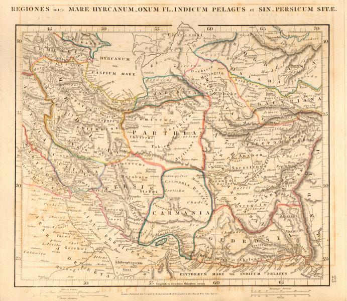 Associate Product ANCIENT PERSIA IRAN. Regiones intra Mare Hyrcanum… SW Asia. ARROWSMITH 1828 map