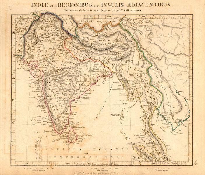 Associate Product ANCIENT INDIA & INDOCHINA. Indiae cum Regionibus… ARROWSMITH 1828 old map