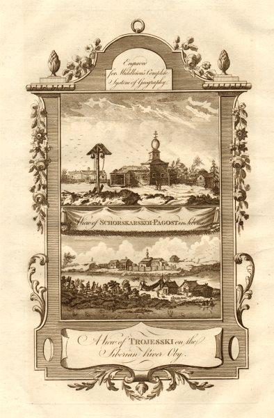Associate Product SIBERIA. Schorskarskoi-Pagost & Trojesski, on the River Ob. MIDDLETON 1779